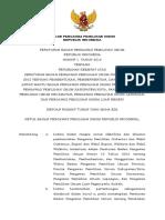 Perbawaslu No. 1 Tahun 2016 ttg Perubahan Keempat Perbawaslu No. 10 Th 2012 ttg Pembentukan Pengawas Pemilu.pdf