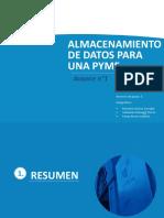 ALMACENAMIENTO DE DATOS PARA UNA PYME.pptx