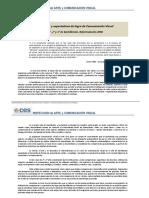 Competencias YExpectativas de Logro Comunicación Visual_Bachilleratos