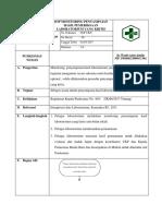 8.1.4.5 Sop Monitoring Penyampaian Hasil Pemeriksaan Laboratorium Yang Kritis