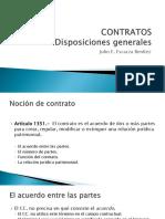 (2) Disposiciones Genrales