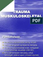 Trauma Muskuloskeletal Gadar I.ppt