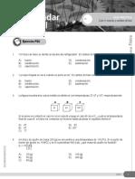 Guía Práctica 10 Calor II Mezclas y Cambios de Fase