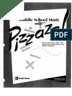 Pizzazz Book A