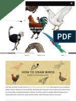 Sketchbook - How to Draw Birds.