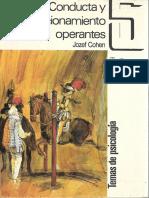 Cohen, Jozef. Conducta y Condicionamiento Operante.pdf