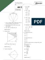 Matemática - Caderno de Resoluções - Apostila Volume 3 - Pré-Universitário - mat2 aula13