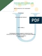 Informe Cultivo Clima Medio