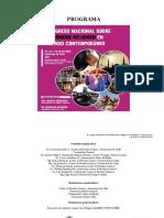 Programa Congreso Nacional Religion 2017