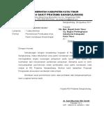 Surat Permohonan Pembuatan Dudukan Pondasi Tangki