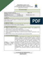 Plano de Disciplina - História Do Brasil República III 2016.1