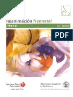 Manual de Reanimacion Neonatal - American Heart Asocciation
