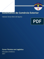Caderno Logística - Sistemática de Comércio Exterior - 2017 RDDI