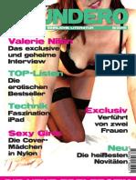SOUNDERO Das Magazin für sinnliche Literatur 8/2010