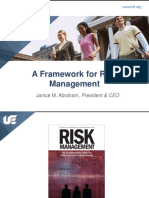Frame Work for Risk Management