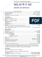 KING AIR F-90 - Resumo Do Manual - BR