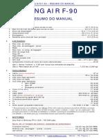 KING AIR F-90 - Resumo Do Manual - BR