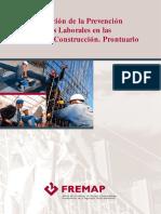 Organización de la Prevención de Riesgos Laborales en las Obras de Construcción, Prontuario - FREMAP (Subido por Williams Lillo).pdf