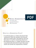 1. Rural Marketing Plan
