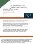 Stock Market Liberazation and Economic Reform