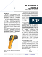 MSL Tech Guide 22_calibration Infrared Thermometer