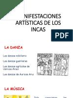 Manifestaciones Artísticas de Los Incas