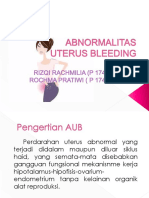 Abnormalitas Uterus Bleeding