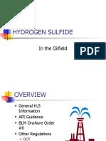 Hydrogen Sulfide in the Oilfield.ppt