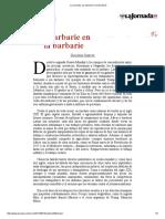 La Jornada_ La Barbarie en La Barbarie