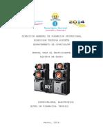 1. Manual de Equipos de Audio 2014