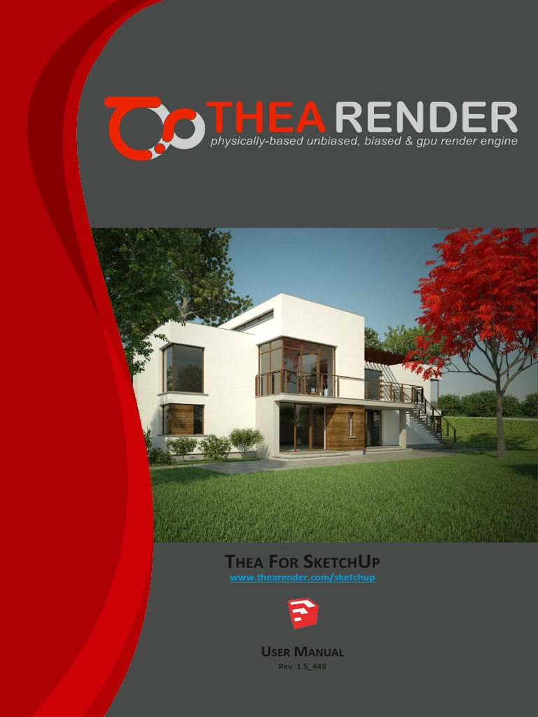 TheaForSketchUp Manual 1 5 448 | Rendering (Computer Graphics