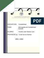 Monografia Contable Libros Registros