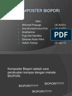 Komposter Biopori Kelompok 1 Xi-A2