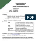information form - sechelt kayak - 2018
