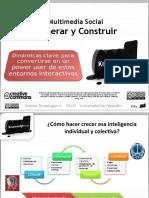 Multimedia Social II Generar y Construir