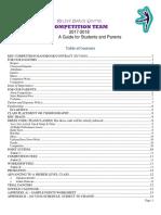 2017-2018 competition handbook