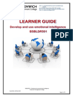 Learner Guide - Develop and Use Emotional Intelligence - BSBLDR501 (1)