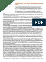 Reseña Sobre Los Descubrimientos en La Nueva Medicina Germánica Del Dr