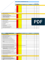 14- Formulir CheckList Audit Internal