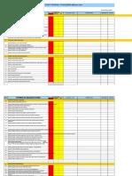 14- Formulir CheckList Audit Internal