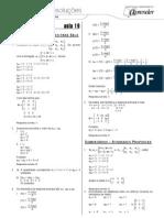 Matemática - Caderno de Resoluções - Apostila Volume 4 - Pré-Universitário - mat4 aula19