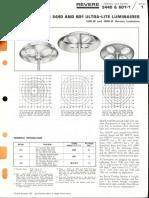 Revere 5440 & 601 Ultra-Lite Series Bulletin 1966