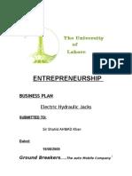 Hydraulic Jack Final Project