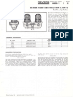 Revere 6050 Obstruction Lights & 701 Photoelectric Controls Bulletin 1966