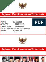 Sejarah Ekonomi Indonesia Ppt