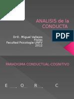 Análisis de La Conducta