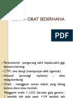 OBAT – OBAT SEDERHANA.pptx