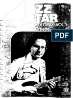 Ted Greene Jazz Guitar - Single Note Soloing Vol1
