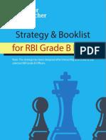 RBI Grade B Study Plan CL