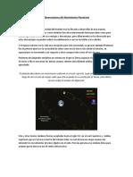Observaciones Del Movimiento Planetario